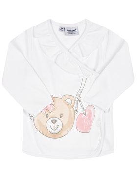 Primigi Primigi Блуза Coprifasce Interlock 45216701 Бял Regular Fit
