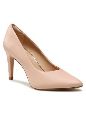 Clarks Clarks Pantofi cu toc subțire Genoa85 Court 261596894 Roz