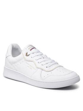 Tommy Hilfiger Tommy Hilfiger Tenisice White Elevated Court Sneaker FW0FW06015 Bijela