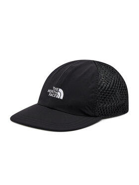 The North Face The North Face Шапка Runner Mesh Cap NF0A55IMJK31 Черен