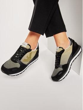 Emporio Armani Emporio Armani Sneakersy X3X058 XM684 R448 Černá