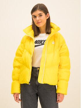 Nike Nike Пухено яке Down Fill BV2879 Жълт Regular Fit