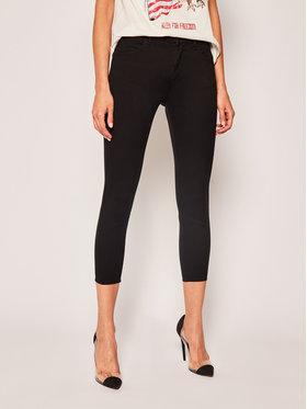 Wrangler Wrangler jeansy Skinny Fit Body Bespoke W28MJT100 Nero Skinny Fit