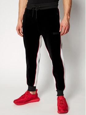 Guess Guess Παντελόνι φόρμας M0RQ35 R69V0 Μαύρο Regular Fit