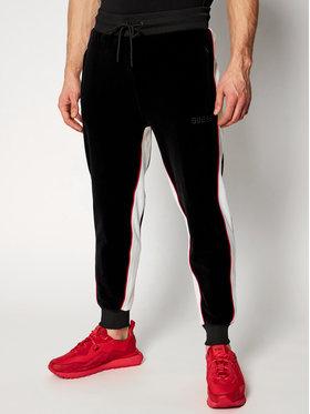 Guess Guess Spodnie dresowe M0RQ35 R69V0 Czarny Regular Fit