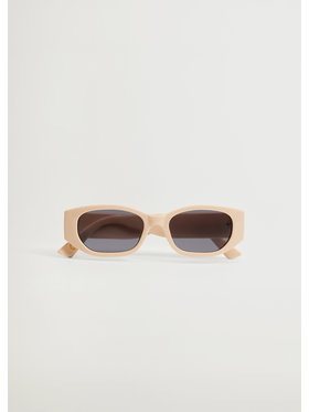 Mango Mango Okulary przeciwsłoneczne Run 87077626 Beżowy