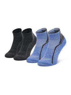 Mizuno Mizuno Set od 2 para muških visokih čarapa Act Train Mid 2P Plava