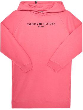 TOMMY HILFIGER TOMMY HILFIGER Kasdieninė suknelė Essential Hooded KG0KG05293 D Rožinė Regular Fit