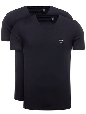Guess Guess 2-dielna súprava tričiek U97G03 JR003 Čierna Slim Fit