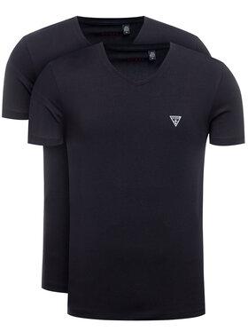 Guess Guess 2-dílná sada T-shirts U97G03 JR003 Černá Slim Fit