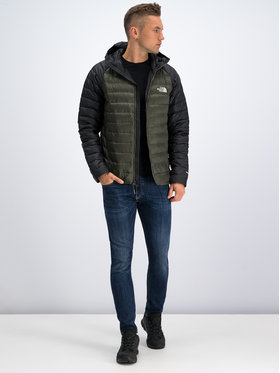 The North Face The North Face Пухено яке Travail NF0A39N4BQW Зелен Regular Fit