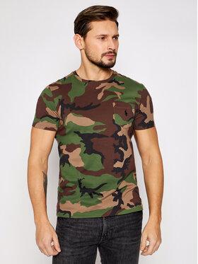 Polo Ralph Lauren Polo Ralph Lauren T-Shirt Ssl 710812948001 Grün Slim Fit