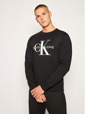 Calvin Klein Jeans Calvin Klein Jeans Μπλούζα Monogram Logo J30J314313 Μαύρο Regular Fit