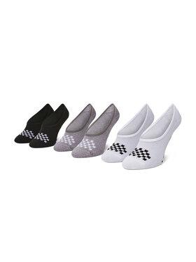 Vans Vans Súprava 3 párov kotníkových ponožiek dámských Classic Canoodle VN0A48HJ4481 Farebná