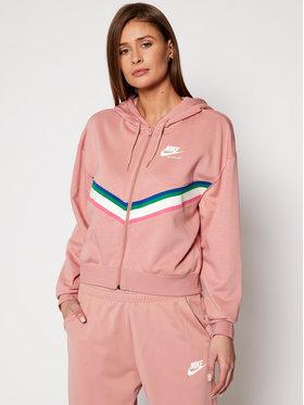 NIKE NIKE Μπλούζα Nsw Heritage CU5902 Ροζ Loose Fit