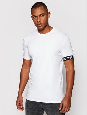 Dsquared2 Underwear Dsquared2 Underwear T-shirt D9M3S3450.11013 Blanc Slim Fit