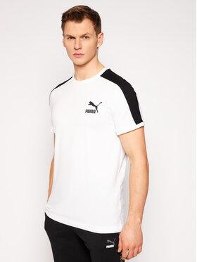Puma Puma T-Shirt Iconic T7 599869 Λευκό Regular Fit
