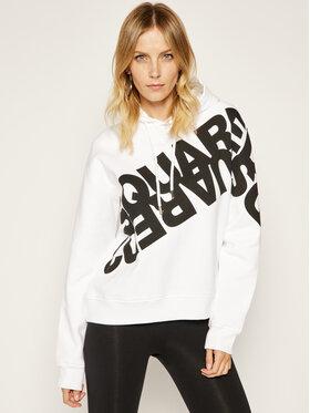 Dsquared2 Dsquared2 Sweatshirt Mirrored Logo S75GU0284 Weiß Regular Fit