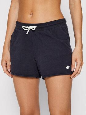 4F 4F Pantaloncini sportivi NOSH4-SKDD001 Blu scuro Regular Fit