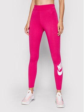 Nike Nike Legginsy Sportswear Essential CZ8528 Różowy Tight Fit