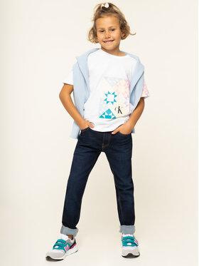 Calvin Klein Jeans Calvin Klein Jeans Jeansy IB0IB00227 Tmavomodrá Slim Fit