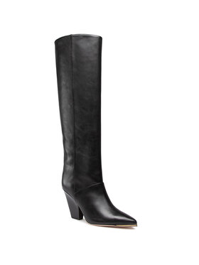 Tory Burch Tory Burch Cuissardes Lila Knee Boot 60917 Noir