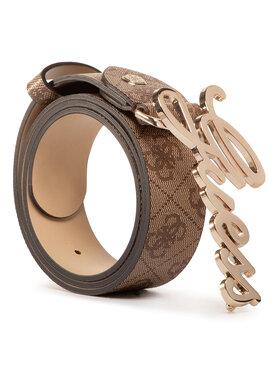 Guess Guess Pasek Damski Digital (SB) Belts BW7275 VIN35 Brązowy