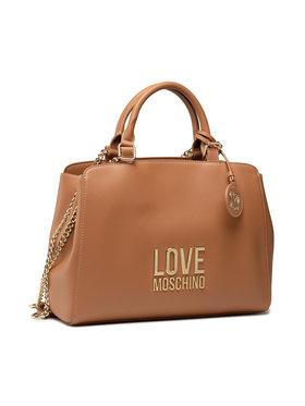 LOVE MOSCHINO LOVE MOSCHINO Дамска чанта JC4192PP1DLJ020A Кафяв