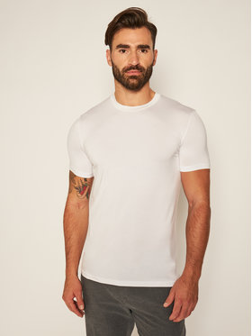 Dsquared2 Underwear Dsquared2 Underwear 2 marškinėlių komplektas DCX200050 Balta Slim Fit