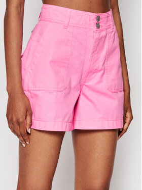 Tommy Jeans Tommy Jeans Džinsiniai šortai Harper DW0DW09753 Rožinė Regular Fit