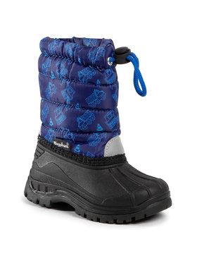 Playshoes Playshoes Śniegowce 193014 Granatowy