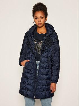 Desigual Desigual Žieminis paltas Lena 20WWEW35 Tamsiai mėlyna Regular Fit