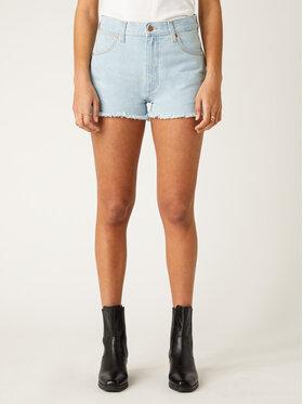 Wrangler Wrangler Pantaloncini di jeans Festival Short W26FWPXA3 Blu Regular Fit