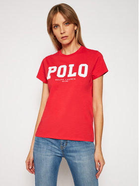 Polo Ralph Lauren Polo Ralph Lauren T-shirt 211827660003 Rouge Slim Fit