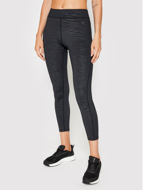 4F 4F Leggings H4L21-LEG016 Nero Slim Fit