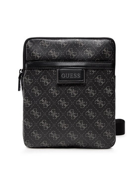 Guess Guess Geantă crossover Vezzola (4G Print) HMVEZL P1123 Gri