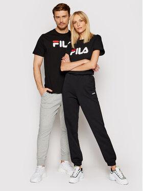 Fila Fila T-shirt Unisex 681093 Noir Regular Fit