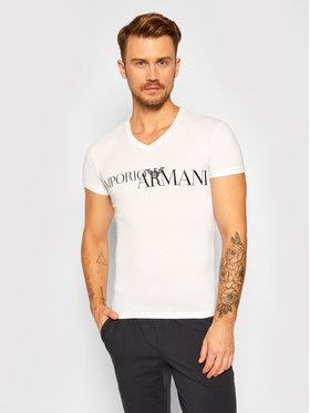 Emporio Armani Underwear Emporio Armani Underwear Tričko 110810 0A516 00010 Biela Slim Fit