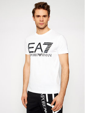 EA7 Emporio Armani EA7 Emporio Armani Póló 3KPT27 PJ7CZ 1100 Fehér Regular Fit