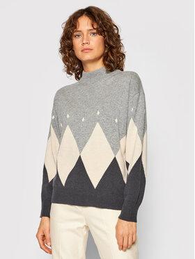 Peserico Peserico Sweater S99092F12 9018I Szürke Regular Fit