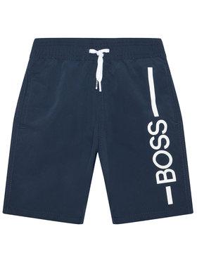 Boss Boss Szorty kąpielowe J24682 M Granatowy Regular Fit