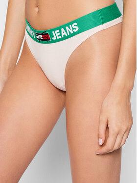 Tommy Jeans Tommy Jeans Kalhotky string UW0UW02823 Růžová