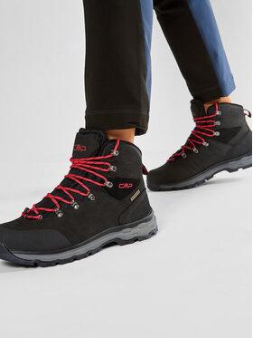 CMP CMP Bakancs Sheliak Trekking Shoes Wp 39Q4887 Fekete