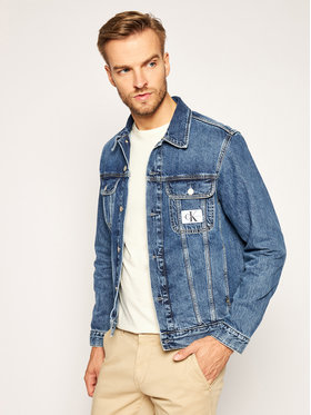 Calvin Klein Jeans Calvin Klein Jeans Jeansová bunda J30J315531 Tmavomodrá Regular Fit