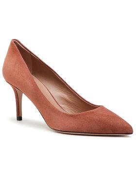 Boss Boss Pantofi cu toc subțire Eddie Pump 70-S 50389099 10199283 01 Maro