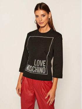 LOVE MOSCHINO LOVE MOSCHINO Mikina W637104E 2182 Černá Regular Fit