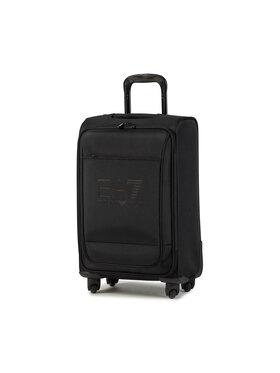 EA7 Emporio Armani EA7 Emporio Armani Közepes szövetborítású bőrönd 275328 CC294 00020 Fekete