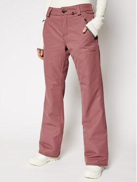 Volcom Volcom Spodnie narciarskie Frochickie H1252103 Różowy Chino Fit