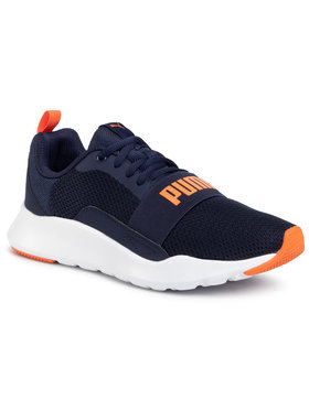Puma Puma Chaussures Wired Jr 366901 13 Bleu marine