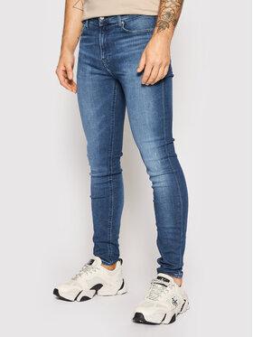 Calvin Klein Jeans Calvin Klein Jeans Džinsai J30J317796 Tamsiai mėlyna Super Skinny Fit